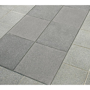 Marshalls Argent Paving Dark Smooth Paving Slab 400mm x 400mm x 38mm - Pack of 60