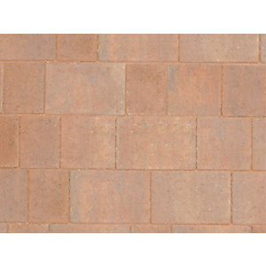 Marshalls Drivesett Savanna Traditional Block Paving Pack 160mm x 160mm x 50mm