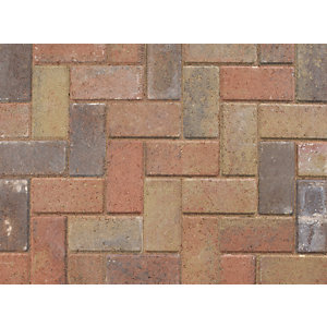 Marshalls Standard Concrete Block Paving Sunrise 200 x 100 x 50 - Pack of 488 (9.76m2)