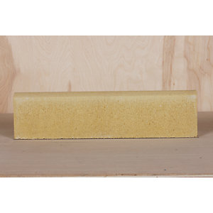 Marshalls Roundtop Edging Buff 600mm x 150mm x 50mm - Pack of 60