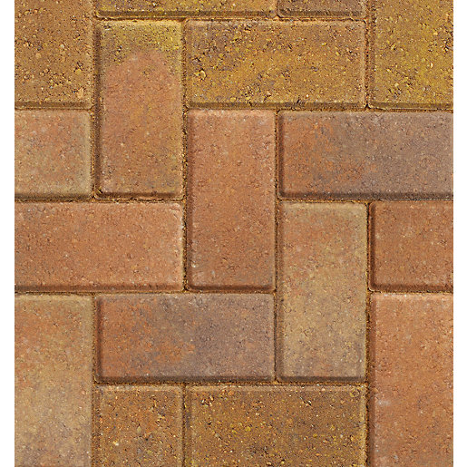 Marshalls Driveline 50 Bracken Block Paving - 200mm x 100mm x 50mm