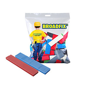 """Broadfix Flat Packers, 28mm x 100mm, Assorted Thickness of 1mm to 6mm, Bag of 120"""""""