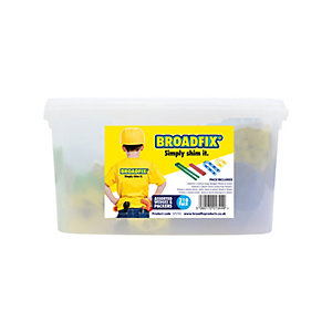 """Broadfix Starter Pack Assorted Wedges & Packers, Assorted Size & Thickness, Tub of 210"""""""