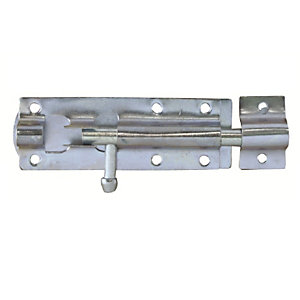4Trade Tower Bolt Straight Galvanised 203mm