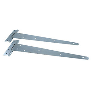 4TRADE Medium Duty Tee Hinges (Pack of 2) - 400mm