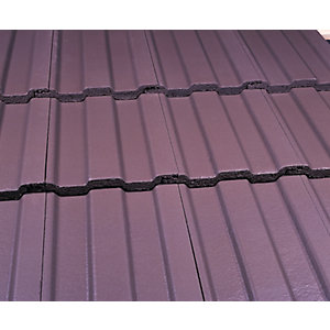 Marley Ludlow Major Roofing Tile Smooth Brown - Pallet of 216