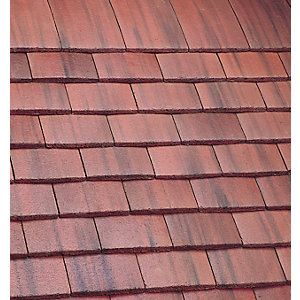 Marley Plain Roofing Tile Old English Dark Red