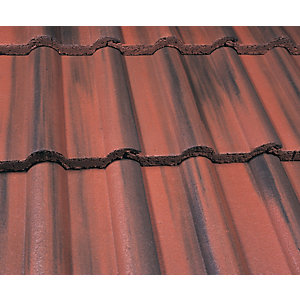 Marley Double Roman Roofing Tile Old English Dark Red - Pallet of 192