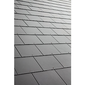 Eternit Thrutone Slate Blue Black Roofing Tile 600mm x 300mm