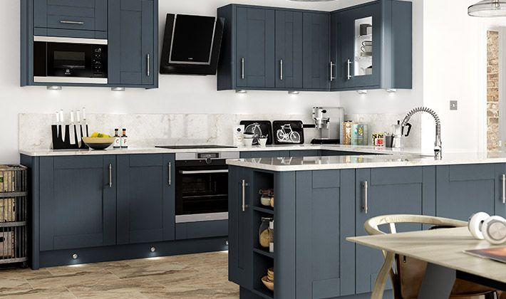Milton Midnight Kitchen | Wickes.co.uk
