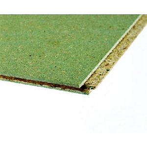 Caberfloor Chipboard Tongue and Grooved 4 Sides Moisture Resistant (P5) 18mm x 2400mm x 600mm
