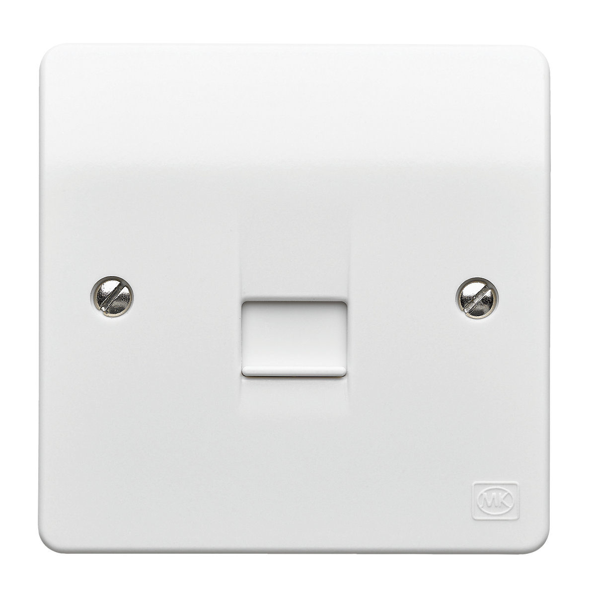 Mk Master Telephone Socket Single K422whi Travis Perkins Wiring An