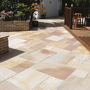 Natural Paving Classicstone Harvest Paving Project Pack 18.9m²