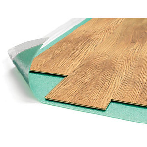 Combat Foam Flooring Underlay with Moisture Barrier 15m x 1m x 3mm