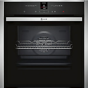 NEFF Built-in Single Pyro Oven Stainless Steel with Slide & Hide - B57CR22N0B