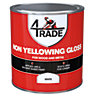 4Trade Non Yellowing Gloss Paint White