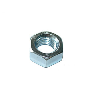 Hexagon Full Nuts Zinc Plated M6