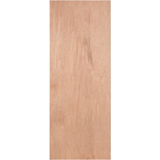 Flush Plywood Paint Grade Hollow Core Internal Door 1981mm x 762mm x 35mm