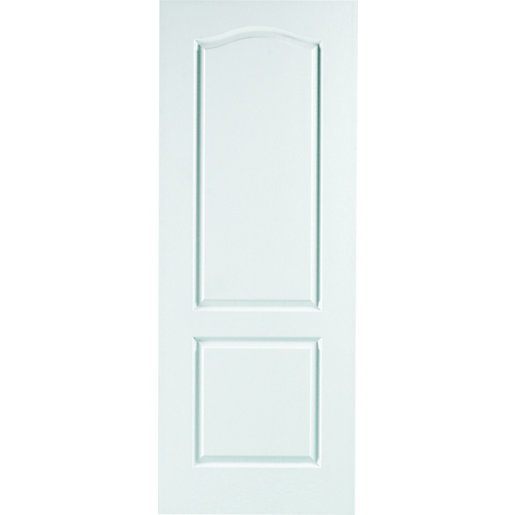 Interior Moulded Hobson 2 Panel Grained Hollow Core Door 1981mm x 610mm x 35mm