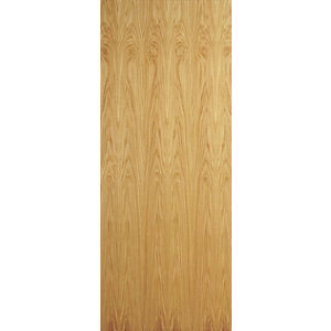Internal Flush Oak Flush Veneer Door 1981 x 610 x 35mm