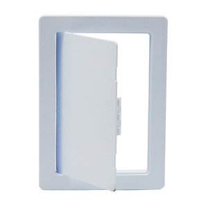 Tradeline Plastic Picture Frame Access Panel Primer White 150mm x 225mm - Pack of 10