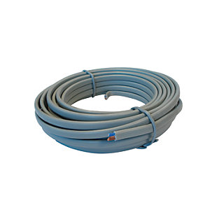 4Trade Twin & Earth Cable 6242Y Grey 1.5mm x 10m - Pack of 5