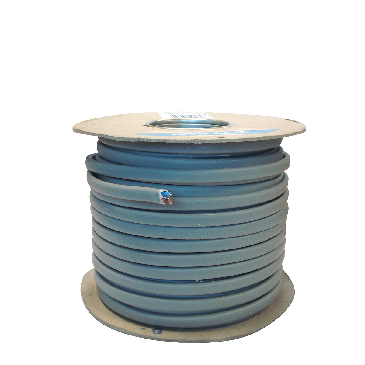 4trade Twin Earth Cable 6242y Grey 15mm X 50m Travis Perkins Uk Wiring Colours Coil 25mm