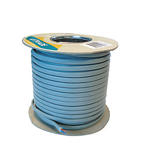 4TRADE 6242YH 1.5mm Twin & Earth Cable Grey 50m