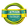 4Trade Single Core Conduit Wiring Green/Yellow 10.0mm x 5m 6491X
