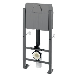 Wirquin Cme 50717639 Pro High WC Frame Complete with Cable Operated Dual Flushing Valve