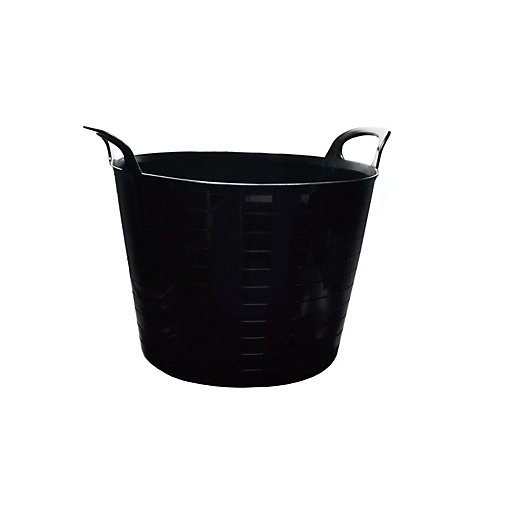 Strata Builders Tub Black 40L