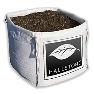 Hallstone Bark Chippings Mulch Bulk Bag 0.6m³