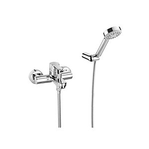 Roca L20 Wall Mounted Bath Shower Mixer and Kit 5A0109C02