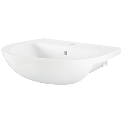 iflo Cascada Semi Recessed Basin 550mm x 460mm