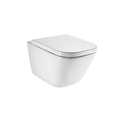 Roca Rimless Wall Hung Toilet Pan 34647L000