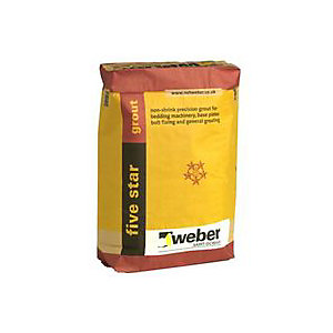 Five Star Non-shrink Cement Grout - 25Kg