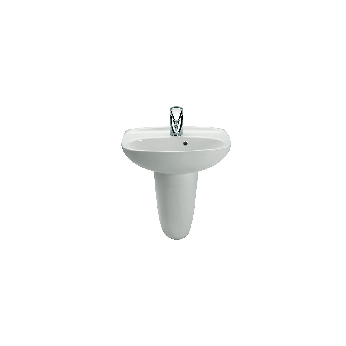 Roca Laura Cloakroom Basin 1 Tap Hole 450mm x 340mm (Basin Only ...