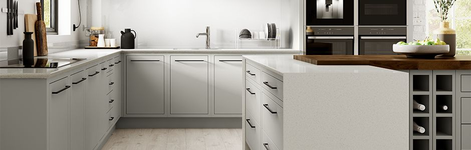 Radley Dove Grey Kitchen