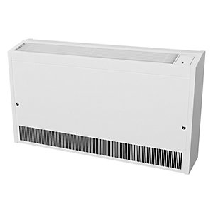 Smiths Environmental Caspian Ll 120/12 Low Level Wall Mounted Fan Convector White