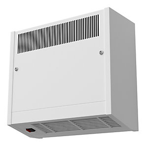 Smiths Environmental Caspian Hl 60/03 High Level Wall Mounted Fan Convector White