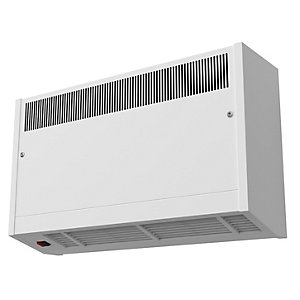 Smiths Environmental Caspian Hl 90/06 High Level Wall Mounted Fan Convector White