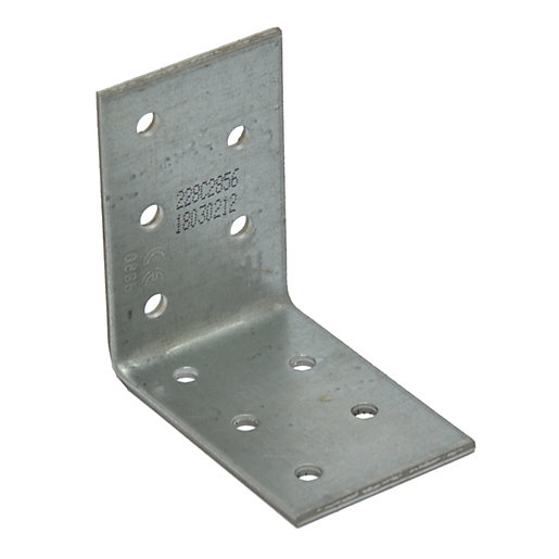 Simpson Strong-Tie Nail Plate Angle Bracket 60mm x 60mm x 40mm - Pack of 100