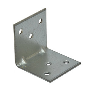 Simpson Strong-Tie Light Reinforced Angle Bracket 40 x 40 x 40mm - Pack of 100