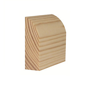Timber Architrave Bullnosed Standard 19mm x 50mm x 2100mm (Finished Size 14.5mm x 44mm)