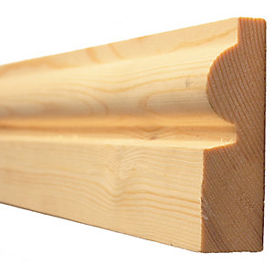 Timber Architrave Torus Best Pattern 403 25mm x 75mm (Finished Size) 20mm x 69mm