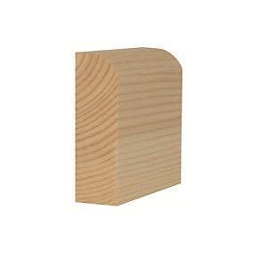 Timber Architrave Pencil Round Standard 19mm x 50mm x 2100mm