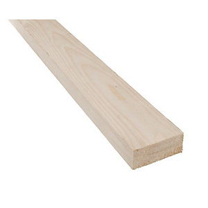 Whitewood Planed Timber Standard 22mm x 50mm x 3.6m (Finished Size 18mm x 44mm)