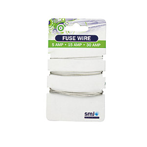 4TRADE Fuse Wire Carded 5/15/30AMP