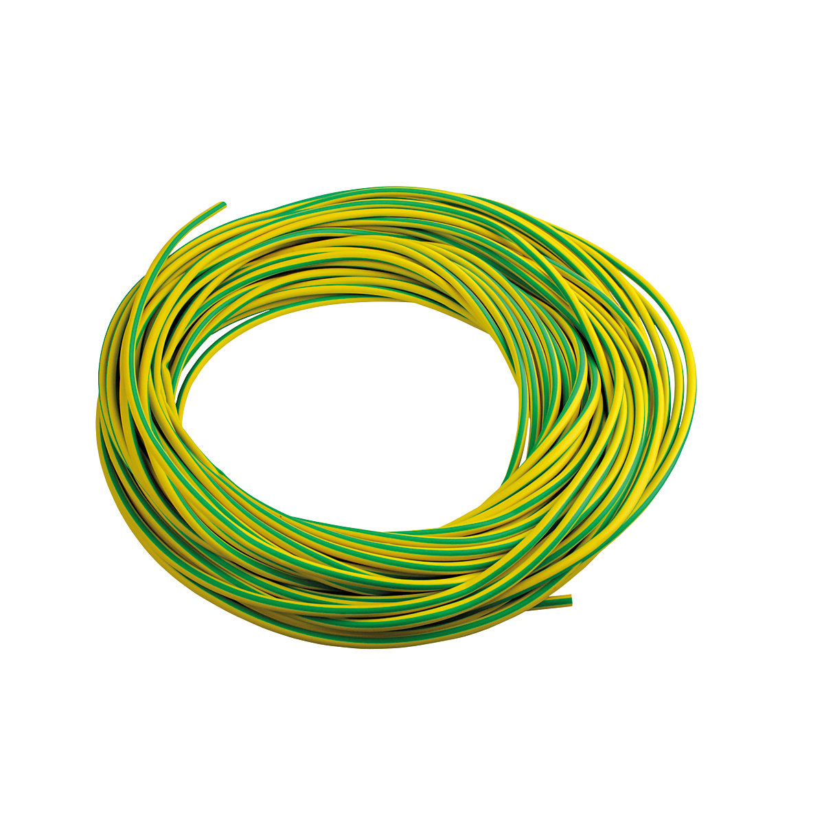 4TRADE Earth Sleeving Green / Yellow 25m | Travis Perkins