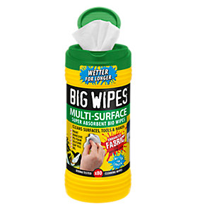 Big Wipes 4 x 4 Formula MULTI-SURFACE Super Absorbent Wipes Biodegradable Wipes